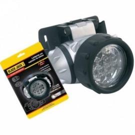 Lanterna para Cabeça Recarregável 12 Leds - Black Jack