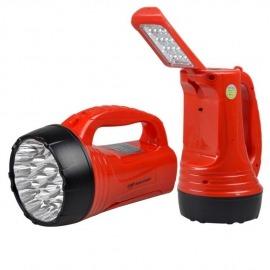 Lanterna Recarregável Super 23 LEDS + Luminária