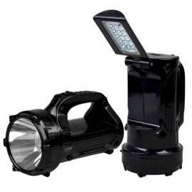Lanterna Recarregavel 1 Super LED + Luminária 15 leds