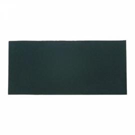 Lente retangular escura - tonalidade 12