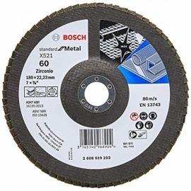 Lixa Flap Disc standard 180 x 22 GR. 60 - 2608.619.293 - Bosch