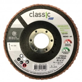 Lixa Flap Disco - R201 - 115x22,23 - Gr. 60 - Norton