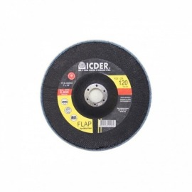 Lixa Flap Disc R822 - 115 x 22 GR 120 - Icder