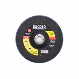 Lixa Flap Disc R822  115 x 22  GR 40 - Icder