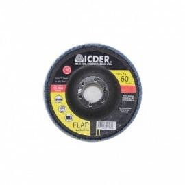 Lixa Flap Disco Modelo R822 115 x 22  GR 60 - Icder