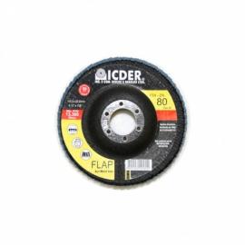 Lixa flap disc r822 115x22 gr. 80 - icder