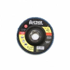 Lixa Flap Disc R822 180x22 GR. 40 - Icder