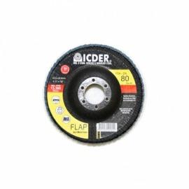 Lixa Flap Disc R822 180x22 GR. 80 - Icder