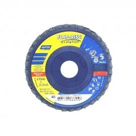 Lixa Flap Disco - R201 - 115 x 22,23 - Gr. 40 - Norton