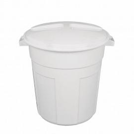 Lixeira Clean 32 Litros - Branca - 1032 - Multbox