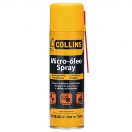 Lubrificante Spray Desengripante Anticorrosivo  300ML - Collins