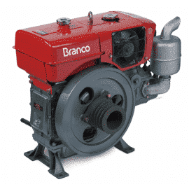 Motor a Diesel BDA-18.0TE Refrigerado à água - Partida Elétrica - Branco
