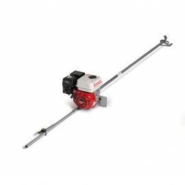 Motor Com Rabeta B4T 7,0CV Com Rabeta CT Simples - Sem Alerta de Óleo - Branco