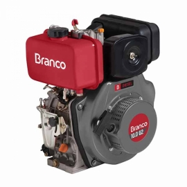 Motor à Diesel - BD 10,0CV G2 Partida Manual  - Branco