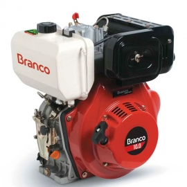 Motor à Diesel - BD 10,0CV - Partida Elétrica e Filtro de Ar à Óleo - Branco