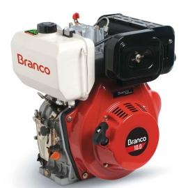 Motor à Diesel - BD 10,0CV - Partida Manual e Filtro de Ar à Óleo - Branco