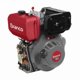 Motor à Diesel - BD 13,0CV  - Partida Manual  - Branco
