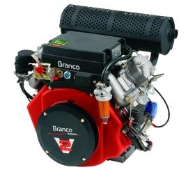Motor à Diesel - BD 22,0CV G2 Partida Elétrica - Branco