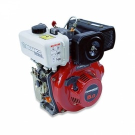 Motor Diesel BD 5,0cv Partida Manual - Branco