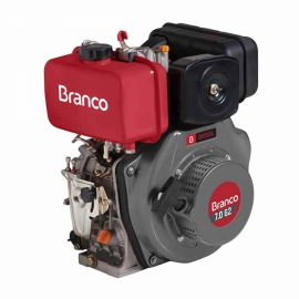 Motor à Diesel - BD 7,0CV G2 - Partida Manual  - Branco