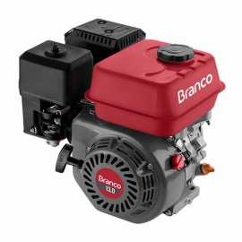 Motor à Gasolina - B4T 13,0CV - Partida Manual  - Branco