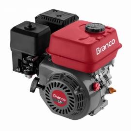 Motor à Gasolina - B4T 6,5CV -Partida Elétrica - Com alerta de Óleo- Branco