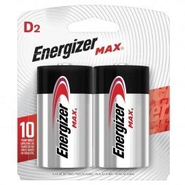 Pilha Max Grande - com 2 unidades - Energizer