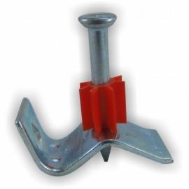 Pino de Aço Liso com Clipe 13mm Ação Indireta 1/4 x 32mm - Ancora