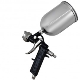 Pistola para pintura alta pressão tipo gravidade - 12E - alumínio - Arprex