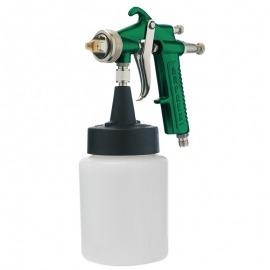 Pistola Para Pintura Baixa Pressão Sucção Caneca Plástica - 4CP - Arprex