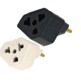 Plug Adaptador 3 Para Computador Simples
