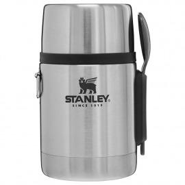 Pote Térmico Com Garfolher - Stainless Steel - Inox - 532ml - Stanley