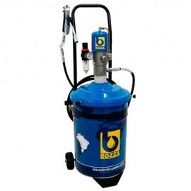 Propulsor pneumática Para Graxa 24kg Com Carrinho -11020-G3- Bozza