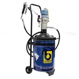 Propulsora pneumática Para Graxa 24kg Com Carrinho - 11020 G4 - Bozza