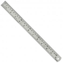 Régua Inox - 300 mm - 12