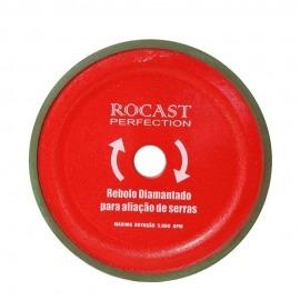 Rebolo Para Afiação de Serras 150 x 5 x 1,5 - Rocast