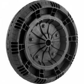 Roda Completa com Pneu Macico 14