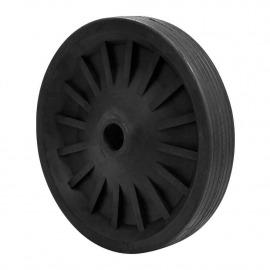 Roda de Borracha Para Betoneira 400 litros - Metalpama