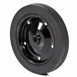 Roda de pneu maciço RPM-403-A - com rolete - Metalpama