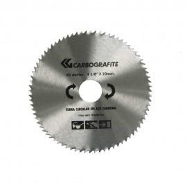Serra Circular 4.3/8 - 80 Dentes de Aço Carbono - Carbografite