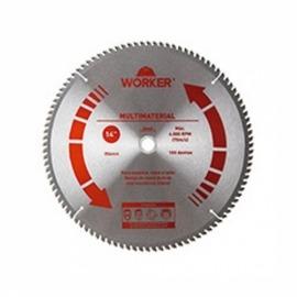 Serra Circular Multimaterial - 254 x 30 mm - 80D - Worker