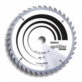 Serra Circular Optiline Wood 184x 20mm 40D - Bosch