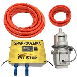 Shampoozeira Eletrônica Para Lava Rápido - 220v - Pit Stop