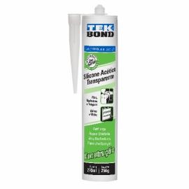 Silicone Acético Transparente 270 ml - Tekbond
