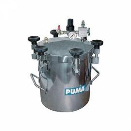 Tanque de Pintura Aço Inox 7,2 Litros - Puma