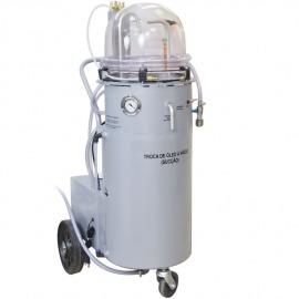 Troca de Óleo à Vácuo Com Capacidade Para 50 litros - STD50 - PRESTOVAC