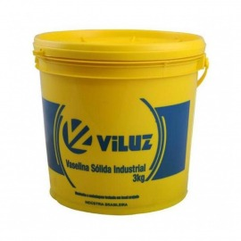 Vaselina Solida Industrial - 3,00kg - Viluz