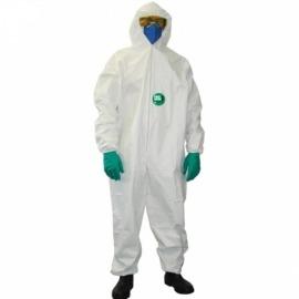Macacão Vestimenta de Proteção Descartável Tamanho G - Carbografite