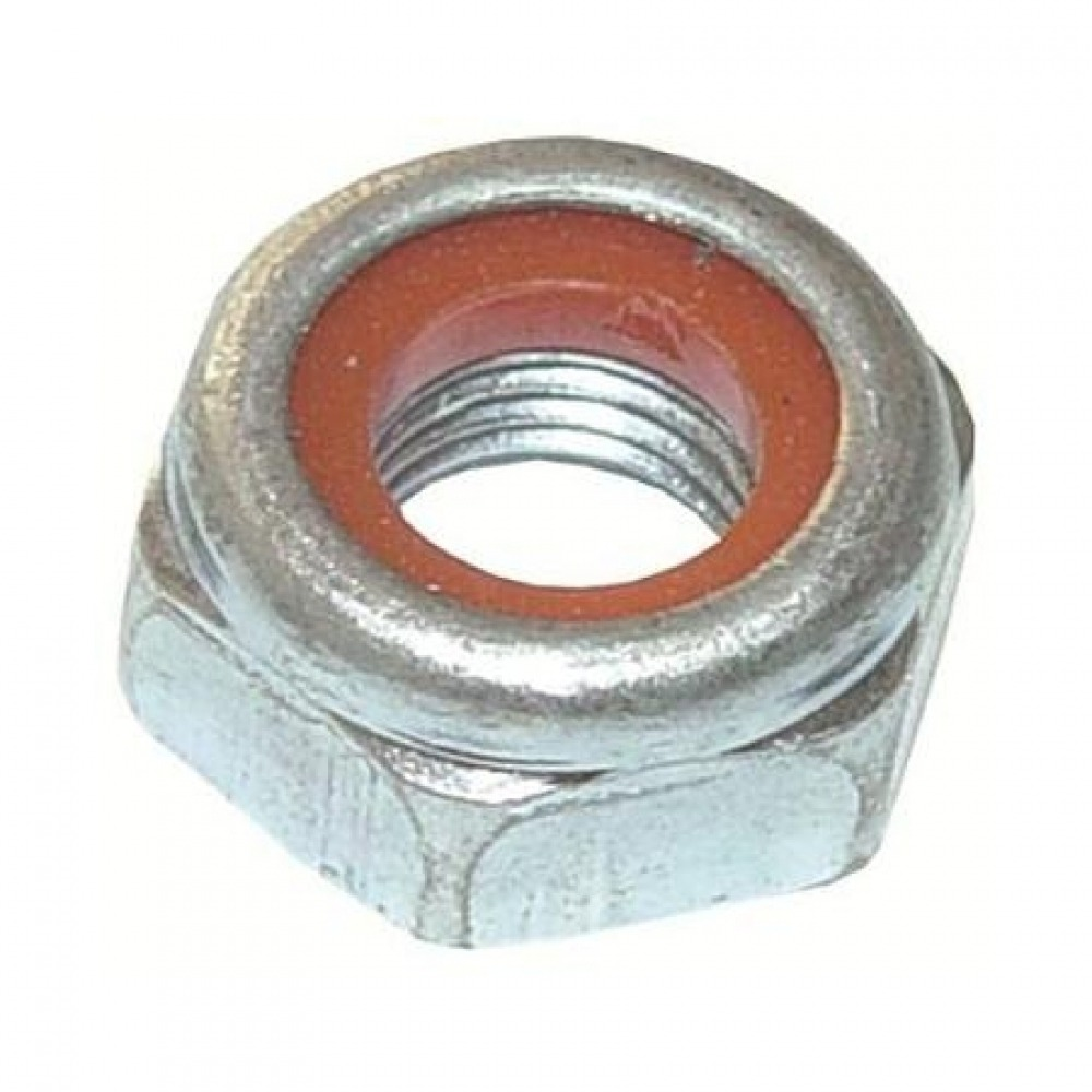 Porca sextavada 6mm. ch.10,0mm ma.nylon nac