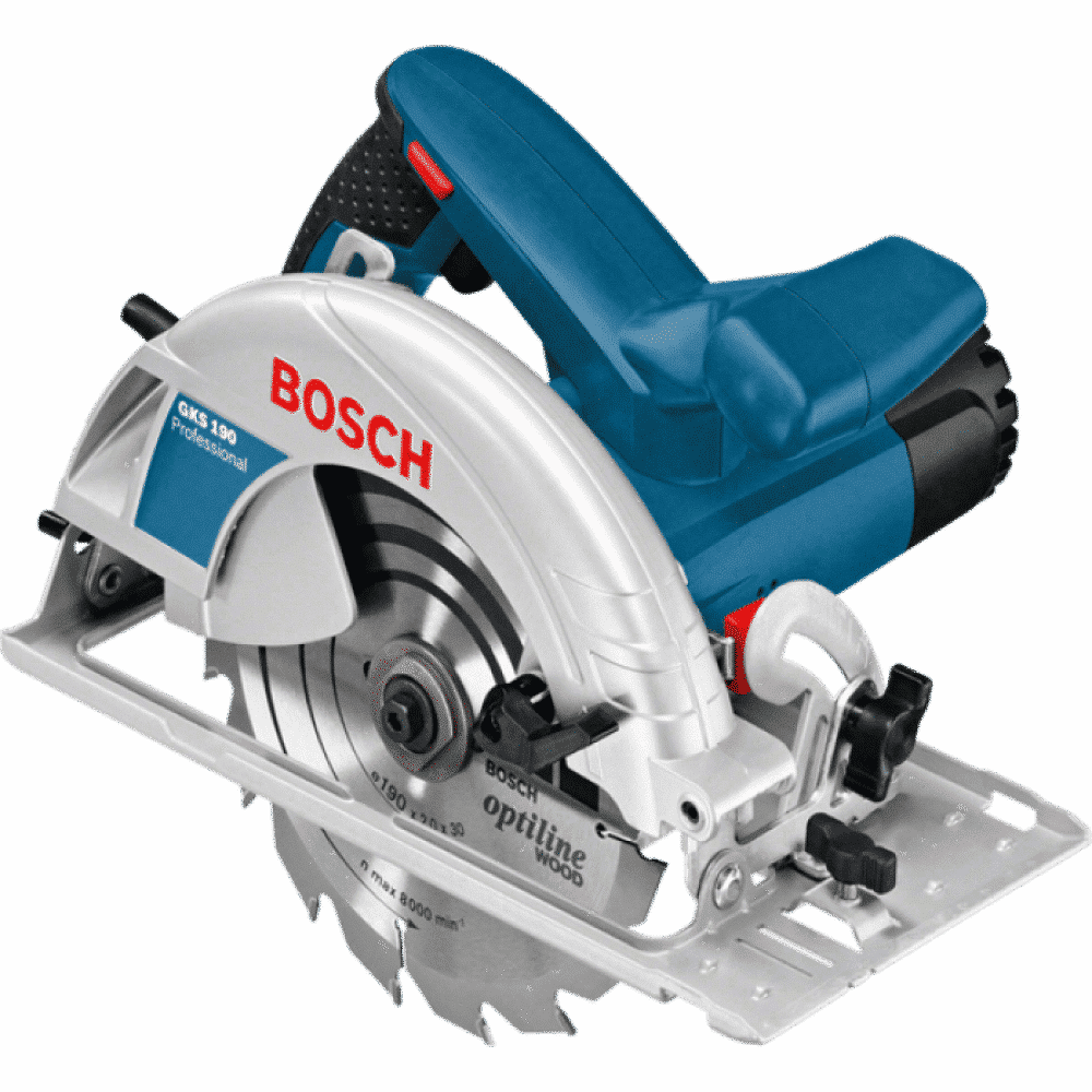 Serra circular manual GKS 190 Professional - 7.1/4 1.400 W   - Bosch